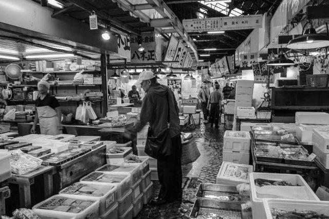 東京都中央卸売市場 築地市場